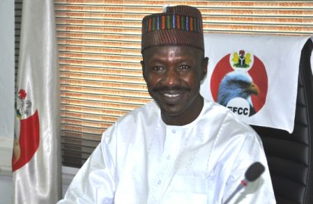 imagu - Exposed : How EFCC's Magu and Sahara Reporters peddle lies to the Media