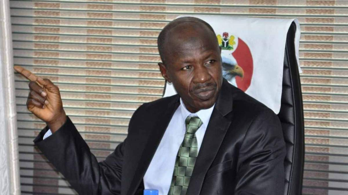 REVEALED: EFCC Top Managment Director, Ayo Olowonihi, Sues Magu Over Unlawful Suspension, Demotion