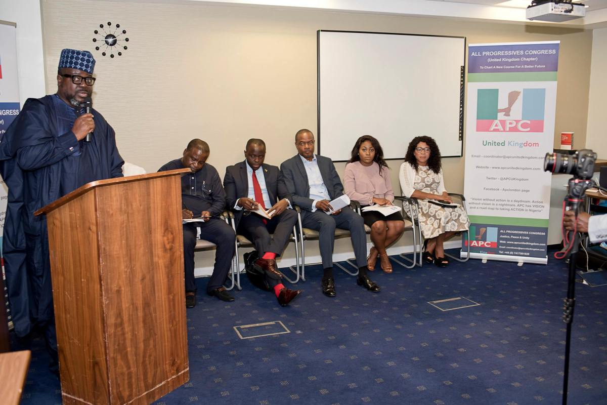 APC UK Holds Successful Session On 'Restructuring Nigeria'