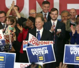 BREAKING: DOUG JONES, FIRST DEMOCRAT TO DEFEAT REPUBLICAN SENATE IN ALABAMA IN 25 YEARS