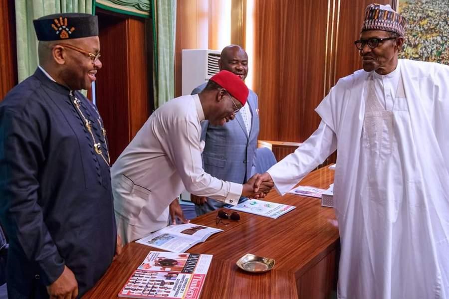 PDP Governor met Buhari 2