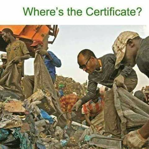 Where is the certificate