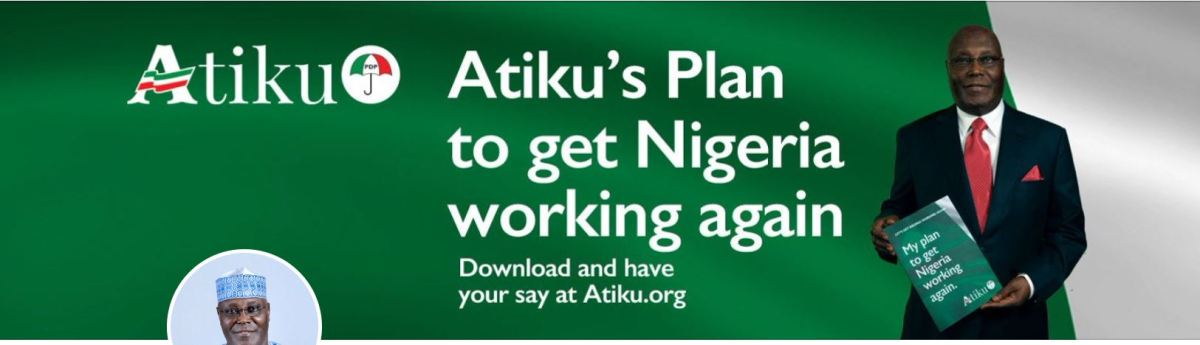 Atiku's 2019 PLAN - To Make Nigeria GREAT AGAIN