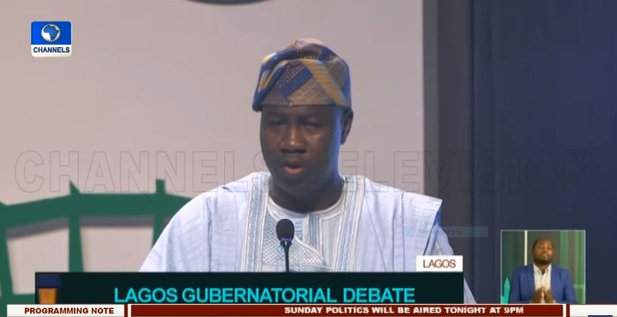 "GBADAMOSI's OUTSTANDING Performance At The GUBERNATORIAL DEBATE Shows He Is ""The Most QUALIFIED"" OF ALL The CANDIDATES Vying For The Number ONE Position In LAGOS – ADP Publicity Secretary, Adelaja Adeoye"