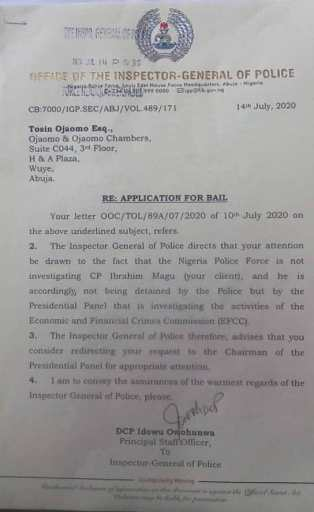 IGP- Magu Bail rejected